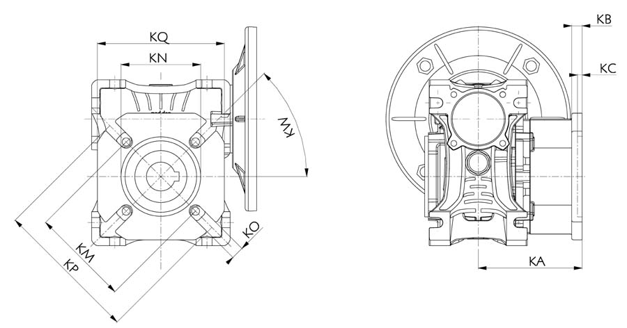 2D and 3D drawings | motive - power transmissions