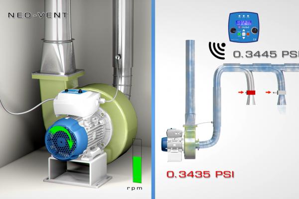 NEO-VENT - Unità di controllo per aspirazione e ventilazione